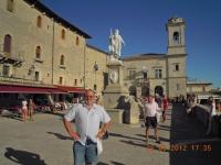 2012 08 26 Urlaub mit Rudi Kampl San Marino
