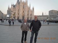 2012 11 16 Turin Marathon Stopp in Mailand