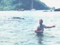 1999 09 07 Tobago Man o war Bay Trinidad und Tobago
