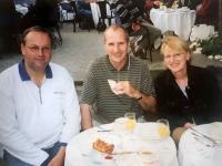 2003 05 29 Busbegleitung ORF Traumschiff nach Genua Frühstück