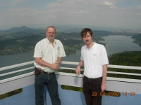 2008 04 28 Inspektionsreise Wörthersee mit Thomas Loitfellner