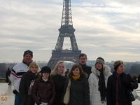 2008 12 13 Ausflug Gruppenabteilung Paris Eiffelturm