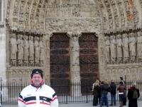 2008 12 13 Ausflug Gruppenabteilung Paris  Notre Dame Portal