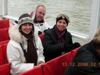 2008 12 13 Ausflug Gruppenabteilung Paris  Schifffahrt auf der Seine