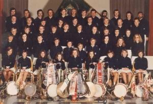 1975 SZ-Gruppenfoto: 3. Reihe, 3. von links