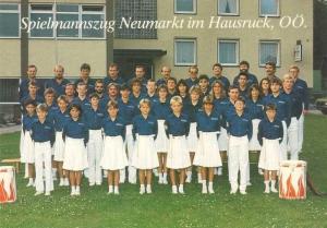 1985 SZ-Gruppenfoto: letzte Reihe, 1. von links