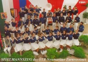 1991 SZ-Gruppenfoto: 2. Reihe, 3. von rechts