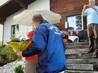 2006 05 21 Geburtstagsständchen Zurucker Burda Christl 50 Jahre Gratulation