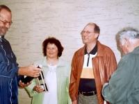 2006 05 28 Geburtstagsständchen Zehetner Othmar 50 Jahre Geschenküberreichung