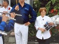 2006 07 09 Geburtstagsständchen Gschaider Hedwig 85 Jahre