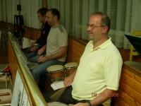 2006 10 08 Geburtstagsständchen Reizl Hans 60 Jahre Ständchen im Probelokal