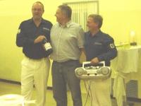 2006 10 21 Geburtstagsständchen Haderer Michael Turnerheim Spezialabfüllung Hobbysommelier Michi