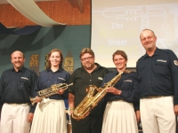 2007 05 05 Wunschkonzert Übergabe Instrumente von Alfred Zechmeister