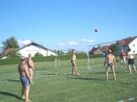 2007 08 25 SZ Sommerfest im Hause Schöberl Ball in der Luft