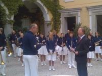 2007 09 10 60 Jahre LSO Konzert im Schlosshof Eferding Landessportdirektor Hartl dankt für das Spiel