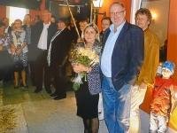 2012 10 13 Geburtstagsständchen Zechmeister Gabriele 50 Jahre SZ spielt
