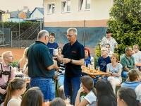 2013 07 09 Besuch Kieler Sprotten Grill Kameradschafsabend Geschenk