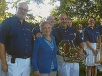2014 06 21 Geburtstagsständchen Schöberl Franziska 70 Jahre bei Turnerdenkmal anl Sonnwendfeier