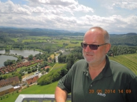 2014 05 30 Konzertreise Spaziergang am Weinlehrpfad Silberberg Aussichtswarte