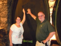 2014 05 30 Konzertreise Besuch Schloss Seggau Weinkeller