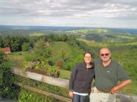 2014 05 30 Konzertreise Fotostopp in Kitzeck - höchstes Weindorf Europas