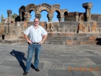 Armenien Kathedrale Etschmiadsin Ruinen Zvartnots