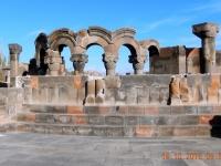 Armenien Kathedrale Etschmiadsin Ruinen Zvartnots Deckblatt 2016 10 16
