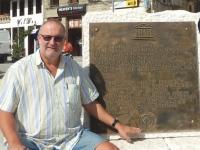 Albanien Historische Zentren von Gjirokastra und Berat Tafel Berat