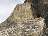 Aserbaidschan Felsbilder und Kulturlandschaft von Gobustan Kopfbild