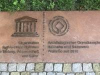 Deutschland Archäologischer Grenzkomplex Haithabu und Danewerk Tafel 1