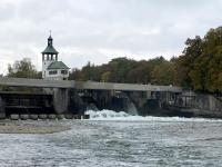 Deutschland Augsburger Wassermanagementsystem Hochablass Lechwehr Kopfbild
