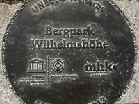 Deutschland Bergpark Wilhelmshöhe Tafel 1