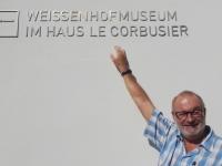 Deutschland Das architektonische Werk von Le Corbusier in Stuttgart Tafel