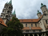 Deutschland Naumburger Dom Kopfbild