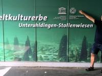 Deutschland Prähistorische Pfahlbauten rund um die Alpen Tafel