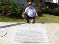 Dominikanische Republik Stadtbereich Santo Domingo Tafel