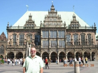 Deutschland Rathaus in Bremen
