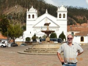 Bolivien Altstadt von Sucre