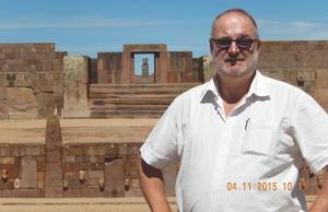 Bolivien Vorkolumbische Ruinen von Tiahuanaco