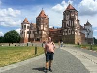 Belarus Weißrussland Schloss Mir