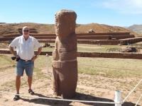 Bolivien Vorkolumbische Ruinen von Tiahuanaco 1