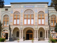 Iran Golestan Palast in Teheran Unescobild oben