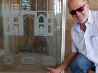 Iran Meidan e Schah Königsplatz Isfahan Tafel