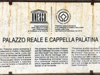 Italien Arabisch normanisches Palermo und Kathedralen von Cefalu Tafel 1 Königspalast Palermo