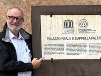 Italien Arabisch normanisches Palermo und Kathedralen von Cefalu Tafel Königspalast Palermo