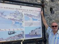 Italien Kulturlandschaft Portovenere Tafel