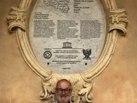 Italien Spätbarocke Städte des Val di Noto Kathedrale Noto Tafel