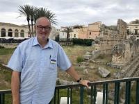 Italien Syrakus und Felskammergräber Pantalica 1