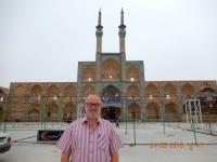 Iran Altstadt von Yazd Platz Amir Chakmak