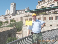 Italien Assisi Basilika Hl Franziskus